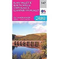 Landranger (147) Elan Valley & Builth Wells (OS Landranger Map)