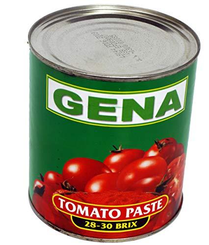 Würz-Fleisch Tomatenmark 2fach konzentriert 1/1 Dose 850ml beste Restaurantqualität, Tomatenpüree Gastronomiequalität 0,85Kg - WF-KOGM078