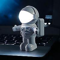 MMRM astronauta estilo LED USB luz nocturna lámpara para ordenador portátil PC portátil