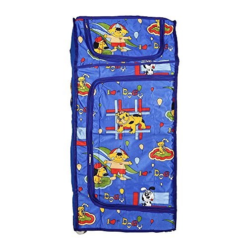 Archana Novelty Nhr Baby Folding Wardrobe ( 4 Shelf) Blue