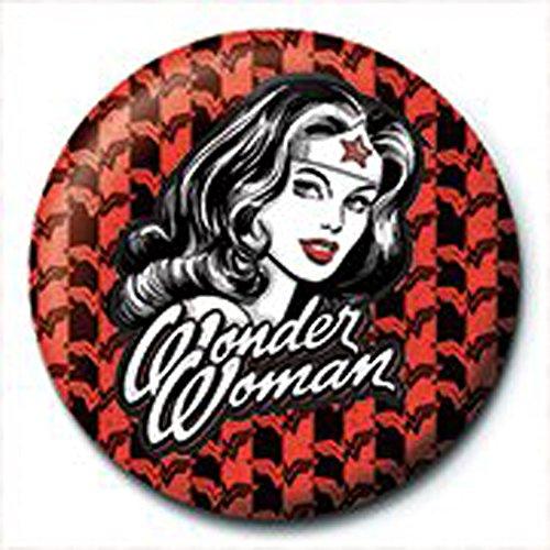 Wonder Woman–Red–Chapa 2,5cm)