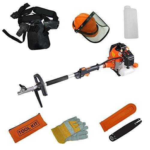 10 in 1 SOTECH Werkzeuge: Heckenschere, Freischneider, Kantenschneider und Kettensäge - 3
