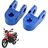 Vheelocityin Shocker Spacer to Increase Ground Clearance Multicolor For Hero Motocorp Passion Xpro