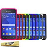 Accessory Master Pack de 10 Housses en silicone pour Samsung galaxy Ace 4 Multicolore