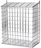 Buckingham 30050Front Tür Buchstabe Käfig, Guard, Korb, Mail-Catcher, Post Box, Briefkasten, vergoldet, vormontiert, chrom