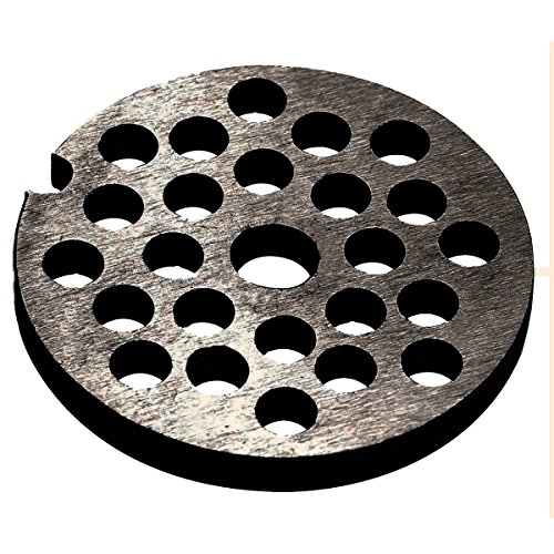 Westmark Ersatz-Lochscheibe für Westmark Fleischwolf 97502260/Gr. 5, Stahl, Lochungsdurchmesser: 6 mm, 14792250
