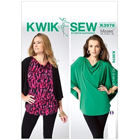 Kwik Sew Patterns K3976 Misses Top Sewing Template, All Sizes by McCall Pattern Company