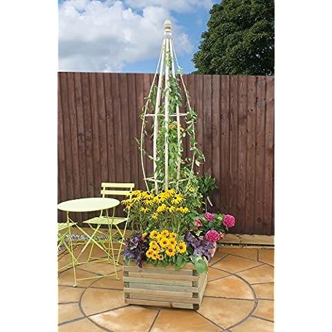 Timber Flowerbell-Supporto per rampicanti, da appendere, a