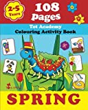 Best Games For 5 Year Olds - Spring: Coloring and Activity Book with Puzzles, Brain Review