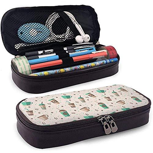 Kaffeetasse mit großer Speicherkapazität Marker Fall Stifthalter, Kosmetik Make-up Tasche, Briefpapier Veranstalter Bleistiftbeutel