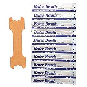 Nasenpflaster Premium – Groß (Large) – Sunglow Better Breathe – gegen Schnarchen – klein mittel groß verfügbar