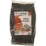Semillas de Amapola bio - Semillas de Adormidera ecológico | 250g | Markal