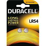 Duracell - Pile spéciale appareils électroniques - LR54 Grand Blister x2 (equivalent 189, V10GA, ...
