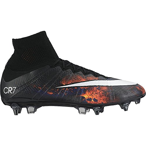 Nike Mercurial Superfly Cr Sg-Pro, Scarpe sportive, Uomo Multicolore (Varios colores (Negro / Blanco / Naranja / Negro (Black / White-Total Crimson-Blk)))