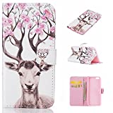 iPhone 6 Case,BONROY® iPhone 6 6S (4,7 inch) Painting design PU Leather Phone Holster Case, Flip Folio Book Case, Wallet Cover with Stand Function, Card Slots Money Pouch Protective Leather Wallet Case for iPhone 6 6S (4,7 inch)