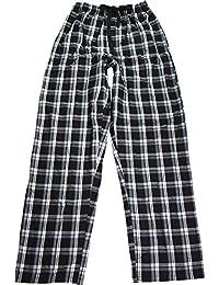 Hanes - Bas de pyjama - À Carreaux - Homme Taille Unique -  noir - Small
