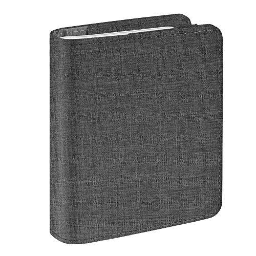 Fintie fujifilm instax mini foto album 104 pagine di tessuto foto album per fujifilm instax mini 9 mini 8 mini 90 mini 25 mini 70, instax sp 2 sp 1, polaroid snap pic-300, denim charcoal