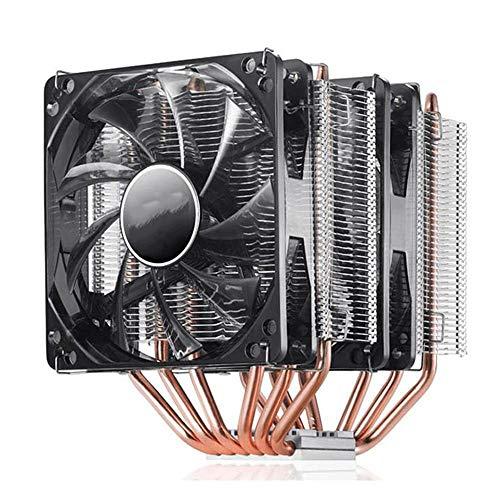 MTK Refroidisseur CPU i5 i7 6 Ventilateur de processeur de l'Ordinateur Public Static Tuyau de Chaleur en cuivre