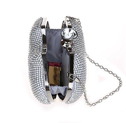 borsa Ms./Pacchetto diamante Mini/borsa da sera di moda/Di alta qualità per banchetti/Sposa frizione-A A