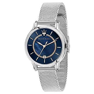 Maserati epoca Reloj para Mujer Analógico de Cuarzo con Brazalete de Acero Inoxidable R8853118507