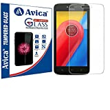 AVICA™ 2.5D HD Premium Flexible Tempered Glass Screen Protector For Motorola Moto C Plus