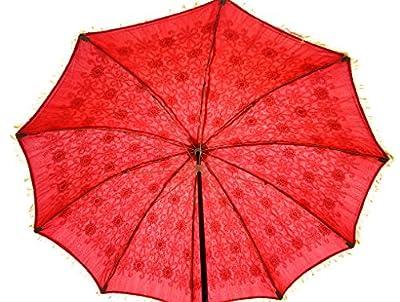 Dekorative Außen Regenschirm Sonnenschirm Garten Parasol Große 133 x 183 cm von Lalhaveli - Gartenmöbel von Du und Dein Garten