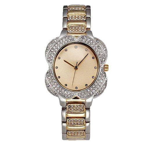 Preisvergleich Produktbild Präzisionsbewegung Mit European Round Hand Legierung Diamantuhren Mode Dame Shi Ying Moderne Uhruhr,Gold2-OneSize