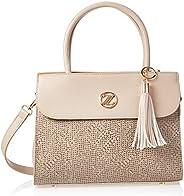 Zeneve London Satchel Bag For Women-2181103-Beige