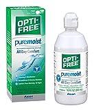 OPTI-FREE PureMoist Mehrzweck-Desinfektion Lösung mit Objektiv Fall, 10-ounces