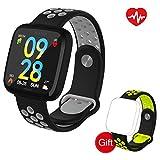 VANWALK Fitness Armband/Fitness Tracker/Smartwatch 1,3' Großer Bunter Bildschirm, Wasserdichter IP67, Überwachung von Blutdruck und Schlaf, der Multisport-Modus für Android iOS Smartphone