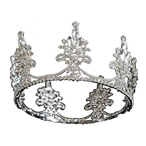 YNYA Diademe Braut Kronenkönigin Prinzessin Haarband Göttin Geburtstag Krone Zubehör Hochzeitsbankett Party Geschenk
