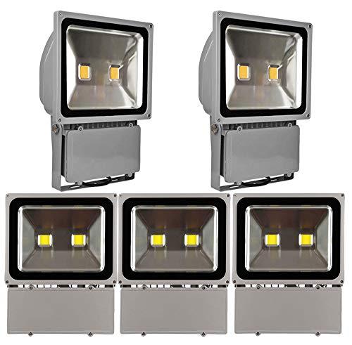 5X 10W 20W 30W 50W 100W 150W 200W 300W Projecteur à LED Projecteur lampes projecteurs extérieure IP65 Blanc Froid(100W)