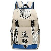 Gumstylekxgj Attack on Titan Vintage Canvas Book Bag Laptop Backpack Casual School Bag type