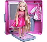 Chad Valley DesignaFriend Harper Doll With Style and Go Suitcase