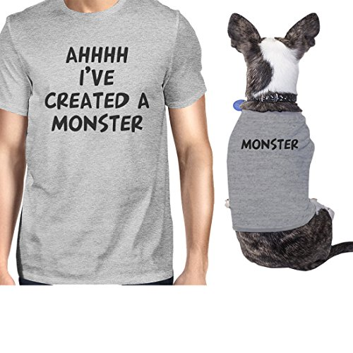 365 impresiones creadas un monstruo pequeño dueño de mascotas a juego regalo conjuntos regalo único
