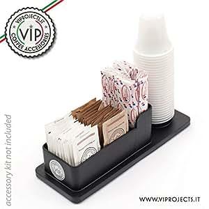 Elegante porta zucchero palette bicchierini caff for Arredo casa amazon