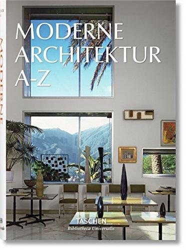 Moderne Architektur A-Z Buch-Cover