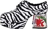 Funtasma PIMP-02 Zebra Fur UK 13 (EU 46 ) -