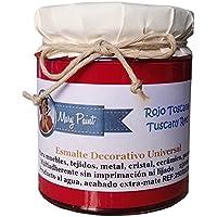 Mary Paint | Pintura para muebles efecto Chalk Paint, Rojo Toscana - 250ml