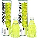Yonex Mavis 200i Aluminum Blend Shuttlecock Combo, Set of 2