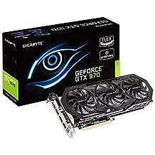 Gigabyte GeForce GTX 970 - Tarjeta gráfica de 4 GB (4096 x 2160 píxeles, GDDR5, 256 Bit, PCIe 3.0