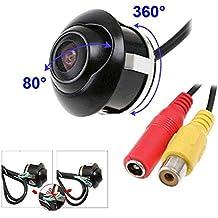 CCD Newest auto telecamera posteriore vista frontale doppia a interruttore