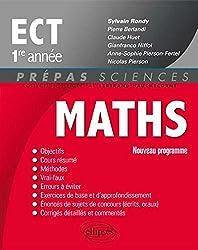 Maths ECT 1re Année Programme 2014