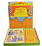 House of Marbles Vintage Style Punch and Judy Puppet Theatre Set
