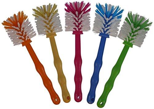 (5 Stück im Set) Bürste Bürsten Reinigungsbürste Klobürste, in 5 Farben, ideal für Thermomix TM5 / TM31 / TM21 / Mixtöpfe / Töpfe usw.