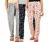 #1: Peach Blossom Womens Nightwear Pyjama Set of 3