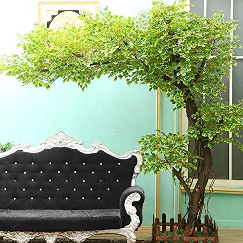 Künstliche pflanze simulation große pflanze dekoration hotel lobby set massivholz stamm nach maß 8 füße * 8 füße -