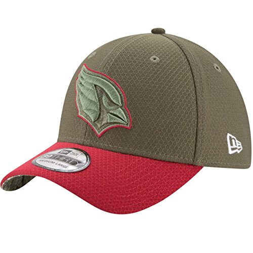 Service Salute To (Arizona Cardinals New Era NFL 39THIRTY 2017 Sideline