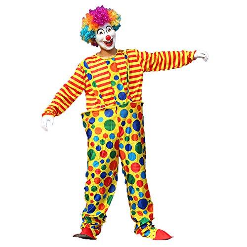 OULII Costume da Carnevale di Carnevale di Halloween Masquerade Vestito da completo per adulti per uomo