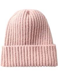 YXDDG Cappello Invernale Maglia per Inverno Caldo Cappello Beanie Caldo Ed  Elegante a8aaf8aec50d